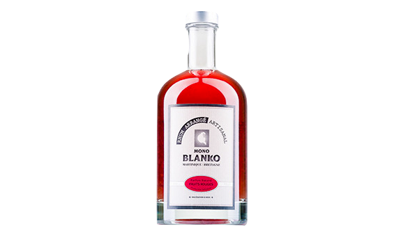 Mono Blanko-fruits-rouges-rhum arrangé-breton